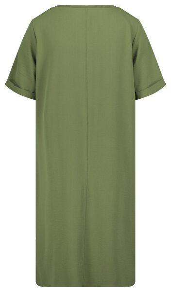 women's dress olive olive - 1000019287 - hema