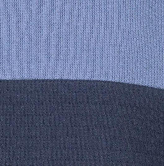 Kinder-Sweatshirt, Struktur dunkelblau dunkelblau - 1000021064 - HEMA