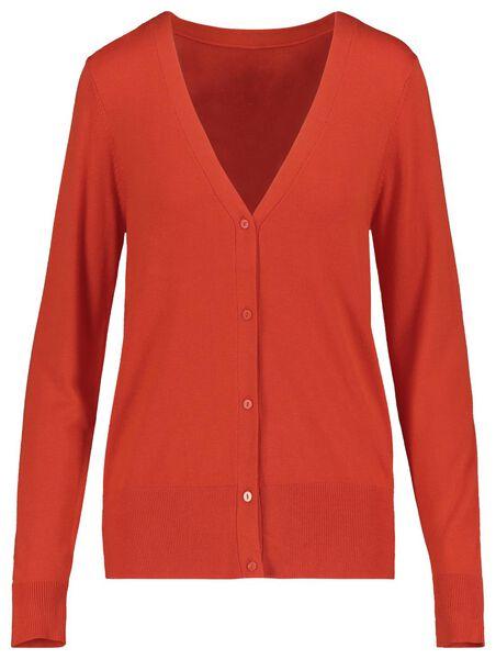 women's cardigan red red - 1000019284 - hema