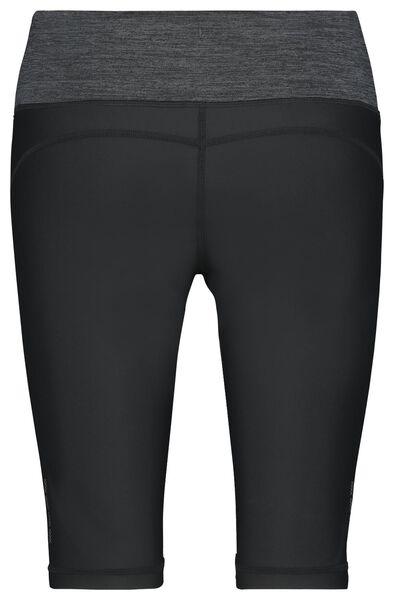 Damen-Sporthose, kurz schwarz schwarz - 1000022875 - HEMA