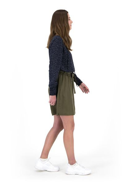 women's skirt olive olive - 1000019402 - hema