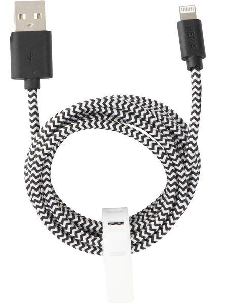 USB-Ladekabel, 8-polig - 39630148 - HEMA