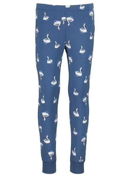 pyjama enfant bleu bleu - 1000016664 - HEMA