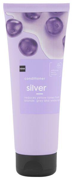 après-shampoing silver 250ml - 11067103 - HEMA