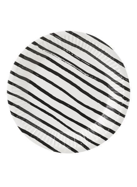 10 assiettes en papier - 14230043 - HEMA