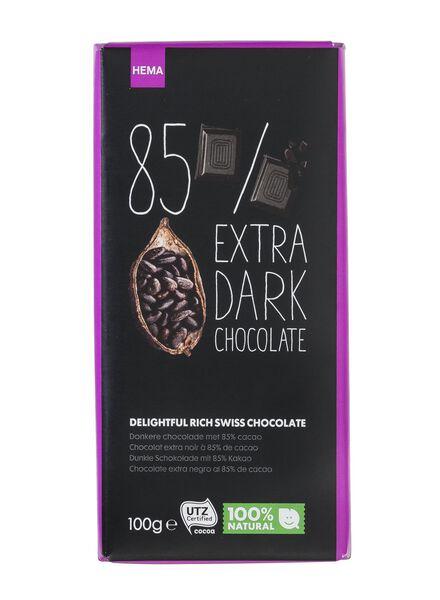 chocolat extra noir 85 % - 10370034 - HEMA