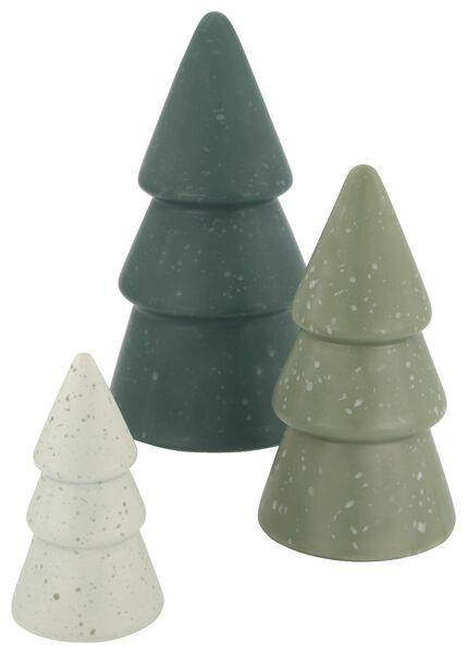Keramik-Weihnachtsbaum, 10 cm - 25103272 - HEMA