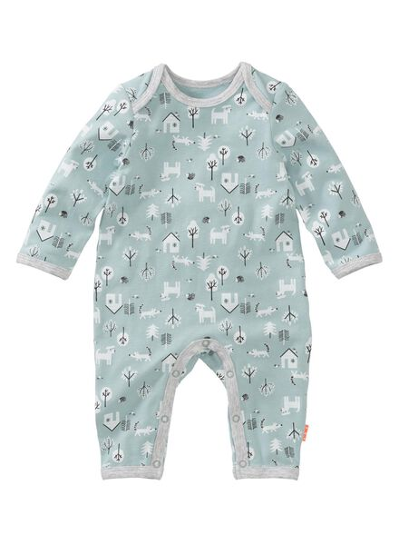 newborn jumpsuit light blue light blue - 1000005616 - hema