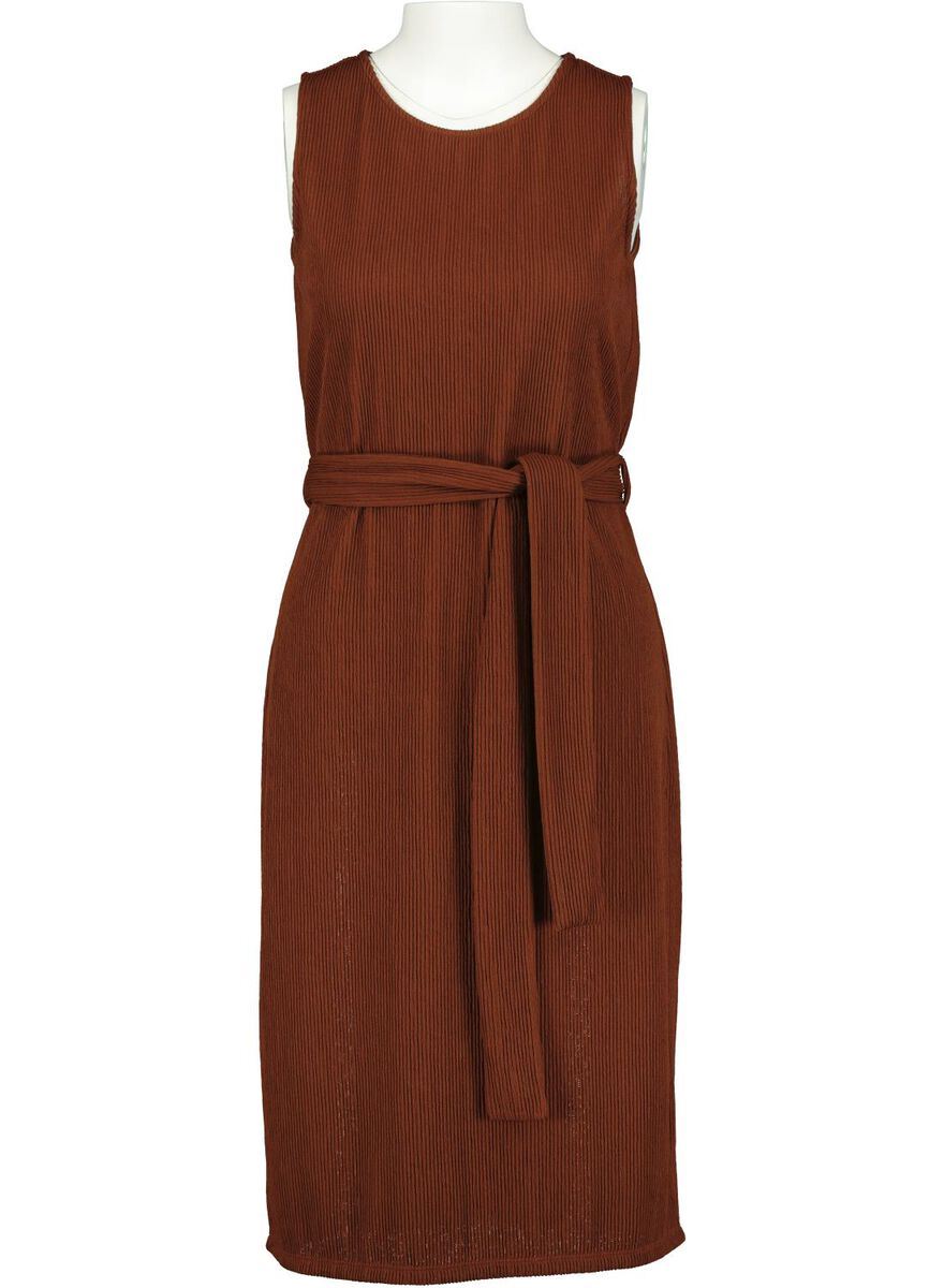Damen-Kleid braun - HEMA