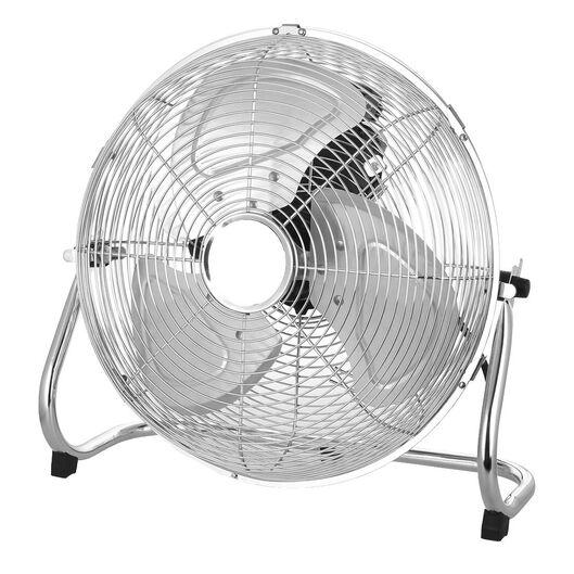 ventilateur de plancher extra power Ø35cm chrome - 80010072 - HEMA