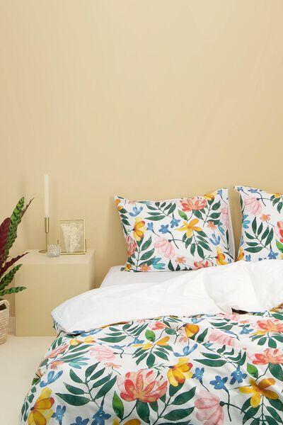 Bettwäsche, Soft Cotton, Blumen bunt bunt - 1000024327 - HEMA