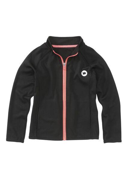 children's sports jacket black black - 1000005703 - hema