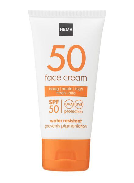 crème visage SPF 50 - 11610152 - HEMA