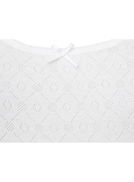 2-pack women's vests cotton white white - 1000006556 - hema