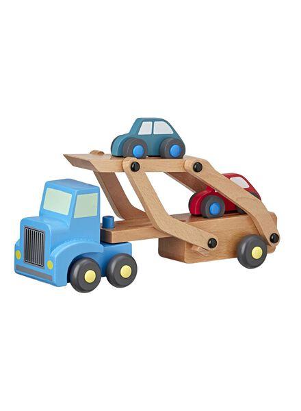 camion en bois avec voitures - 15122229 - HEMA
