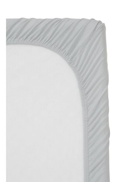 HEMA Drap-housse Surmatelas-jersey Coton Gris Clair (gris clair)