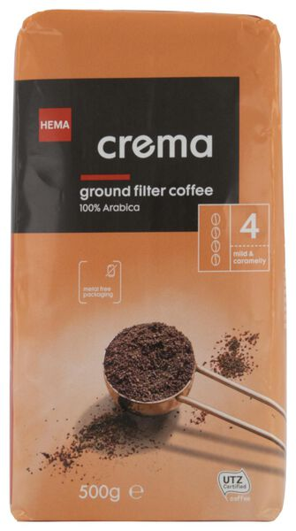 Filterkaffee Crema – 500 g - 17170002 - HEMA