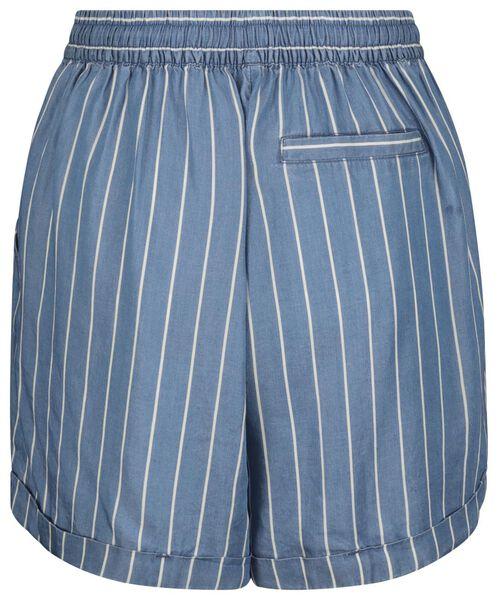 women's shorts stripe blue blue - 1000019535 - hema