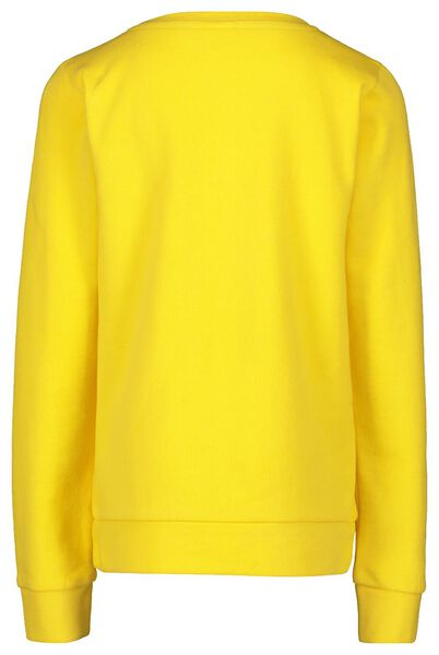 children's sweater yellow yellow - 1000018039 - hema