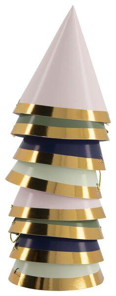 8 paper party hats - Ø8 cm - 14200365 - hema