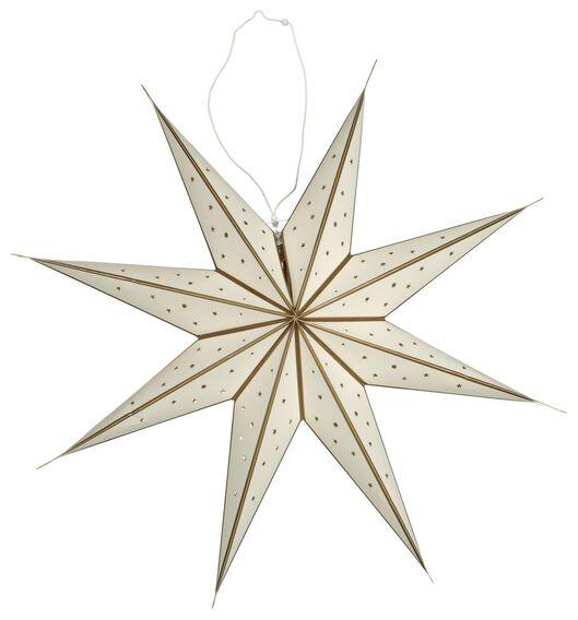 Image of HEMA Christmas Star LED Light Ø68cm White (white)
