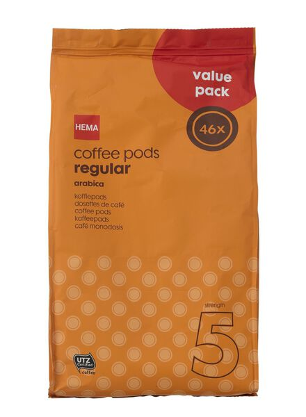 Kaffeepads, regular XXL - 17100021 - HEMA