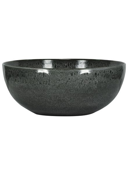 bol - 26 cm - Porto - émail réactif - noir - 9602037 - HEMA