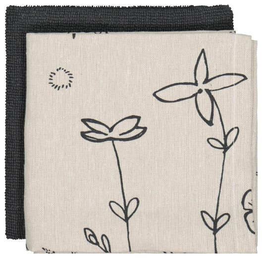 Image of HEMA 2 Tea- And Kitchen Towel Plants Recycled