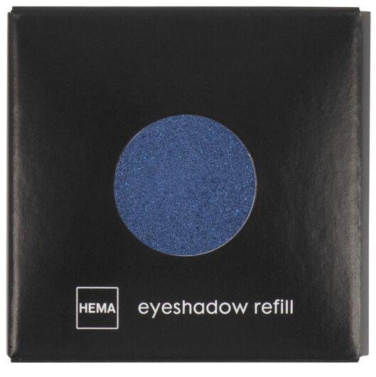 ombre à paupières mono shimmer 21 nightsky blue bleu foncé recharge - 11210321 - HEMA