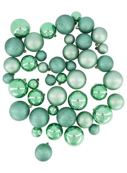 44 boules de Noël - vert menthe - 25100940 - HEMA