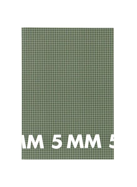 3 exercise books A4 size 5 mm squared - 14101623 - hema