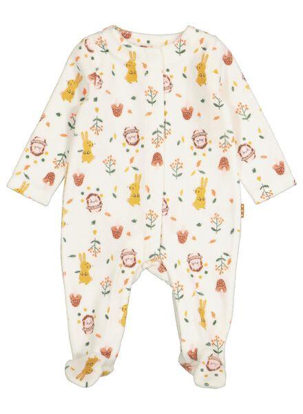 newborn baby jumpsuit wit wit - 1000016898 - HEMA