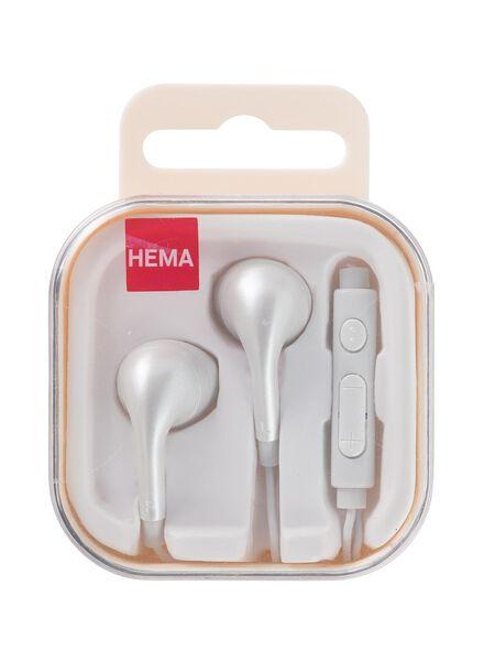 Ohrhörer mit Mikrofon und Lautstärkeregler - 39670036 - HEMA