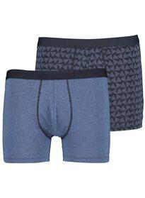 11a8bbefbc07 2-pack men's boxer shorts long blue