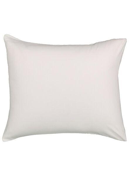 2 taies d'oreiller 60x70 flanelle - blanc - 5100011 - HEMA