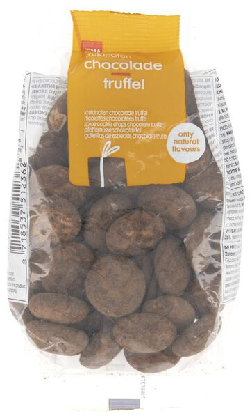 spice cookie drops chocolate truffle 200 grams - 10904061 - hema