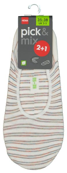 Socken - HEMA Damen Füßlinge Disco Beige  - Onlineshop HEMA