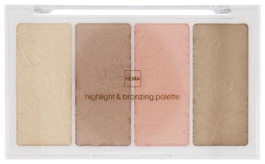 HEMA Highlighter- & Bronzing-Palette