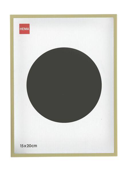 cadre photo 15 x 20 - métal doré 15 x 20 doré - 13691037 - HEMA