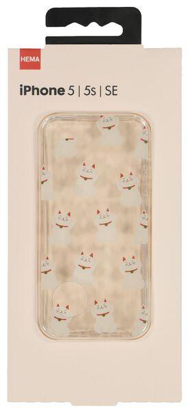 coque souple iPhone 5/5s/SE - 39640006 - HEMA