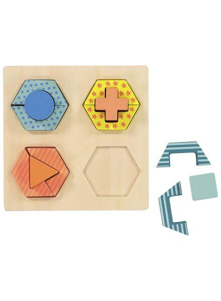 Holz-Formenpuzzle - 15122223 - HEMA