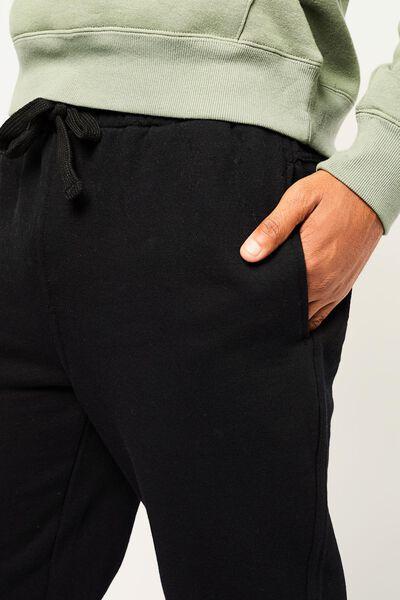 pantalon sweat homme noir noir - 1000014301 - HEMA