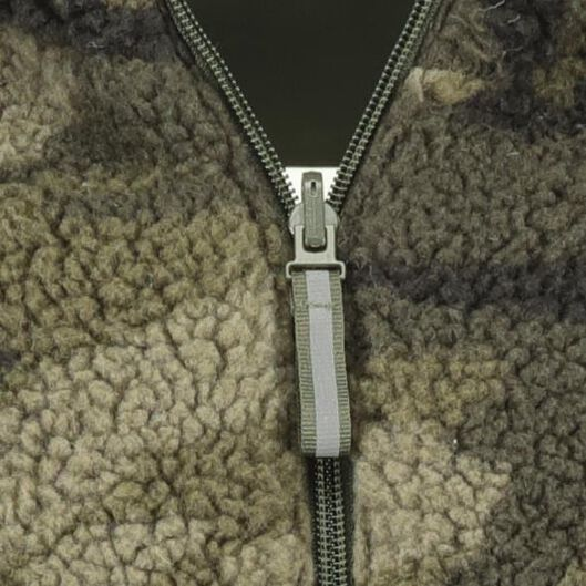 children's jacket reversible army green army green - 1000020381 - hema