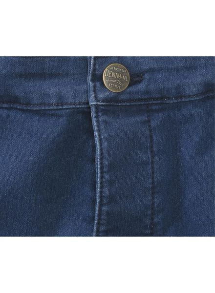 men's shorts jog denim blue blue - 1000005878 - hema