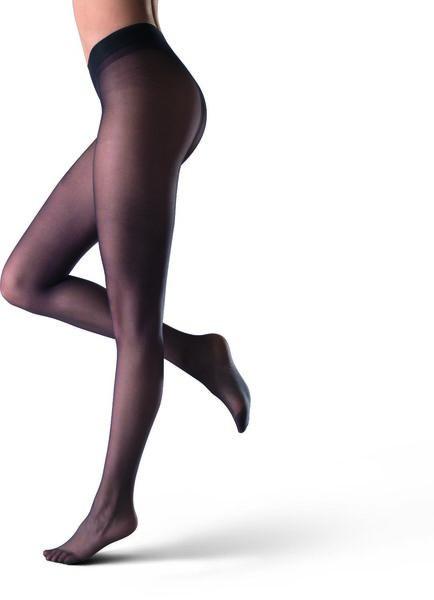 panty transparant 7 denier zwart - 4090029 - HEMA