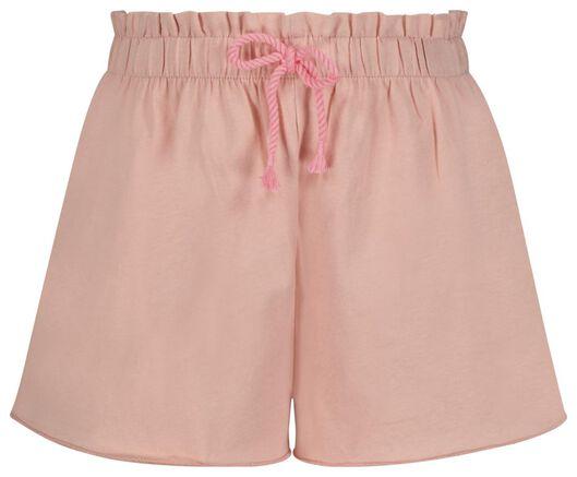 2er-Pack Kinder-Shorts dunkelblau 110/116 - 30855840 - HEMA