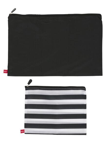 2 organiseurs de bagages - 18600130 - HEMA