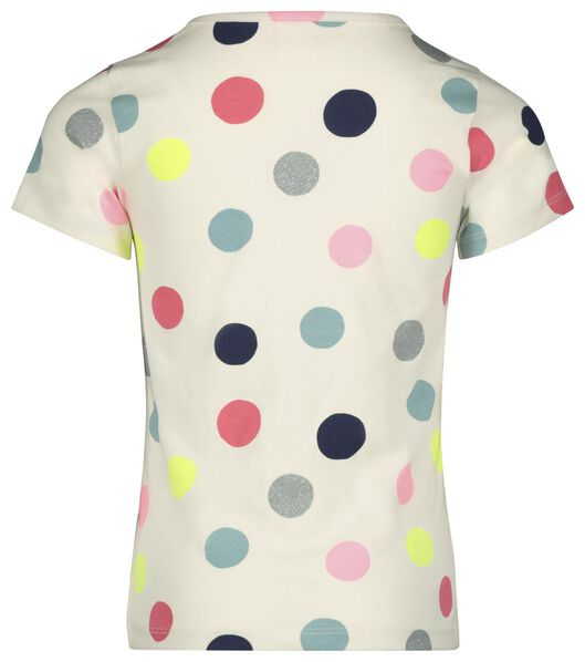 Kinder-T-Shirt, Punkte eierschalenfarben eierschalenfarben - 1000023145 - HEMA