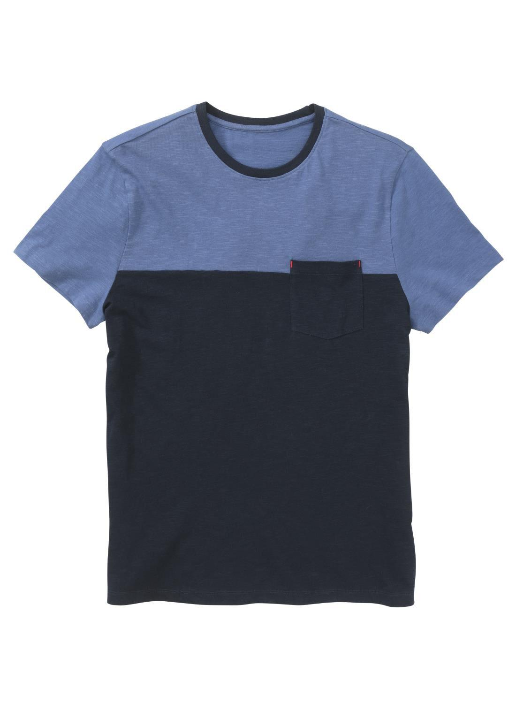 T Donkerblauw Heren Heren Shirt Hema NmOv0w8yn