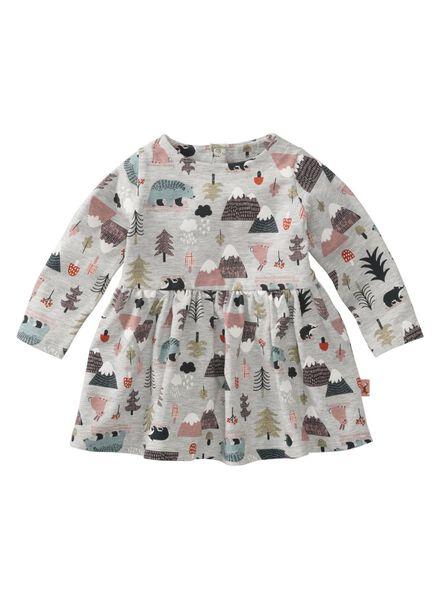 Babykleiderroecke - HEMA Baby Kleid Graumeliert - Onlineshop HEMA